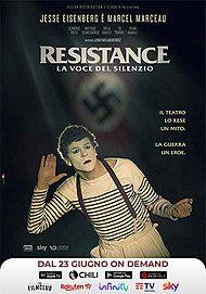 """Movie poster for """"Resistance - La Voce Del Silenzio"""""""