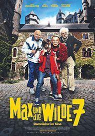 """Movie poster for """"MAX UND DIE WILDE 7"""""""