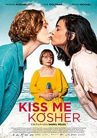 """Filmplakat für """"KISS ME KOSHER"""""""