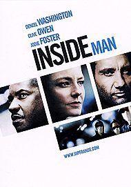 """Affiche du film """"INSIDE MAN L'HOMME DE L'NTERIEUR"""""""