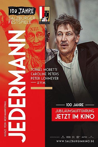 "Movie poster for ""SALZBURGER FESTSPIELE LIVE: JEDERMANN (2020) """