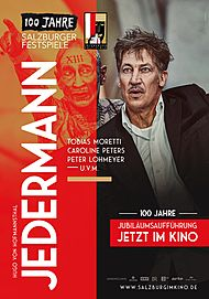 "Movie poster for ""SALZBURGER FESTSPIELE LIVE: JEDERMANN (2020) """