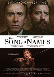 """Filmplakat für """"THE SONG OF NAMES"""""""