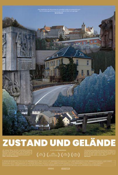 """Filmplakat für """"ZUSTAND UND GELÄNDE"""""""