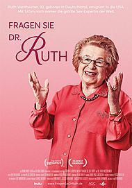 """Filmplakat für """"Fragen Sie Dr. Ruth"""""""