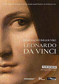 """Filmplakat für """"EINE NACHT IM LOUVRE: LEONARDO DA VINCI"""""""