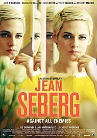 "Movie poster for ""JEAN SEBERG - AGAINST ALL ENEMIES - FILMSTART IN ÖSTERREICH"""