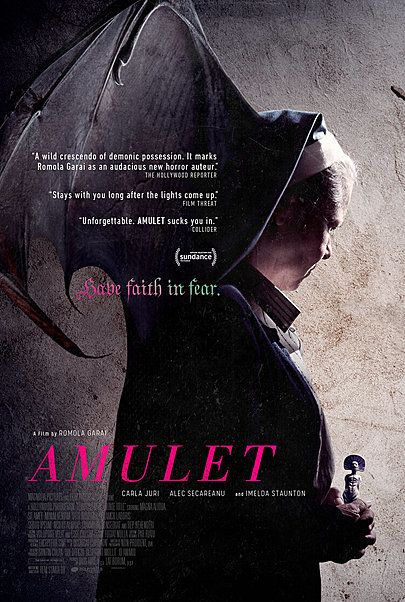 """Movie poster for """"AMULET"""""""
