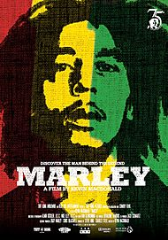 """Movie poster for """"MARLEY"""""""