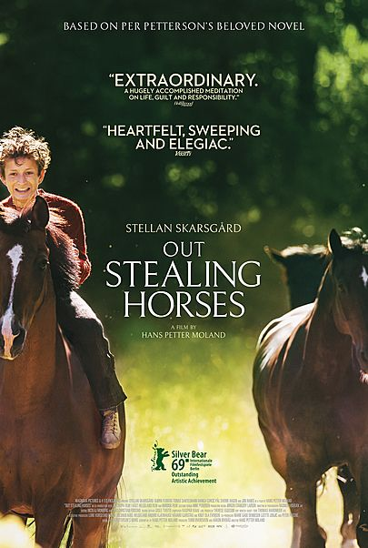 """Movie poster for """"OUT STEALING HORSES"""""""