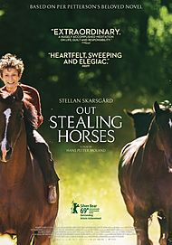 "Movie poster for ""OUT STEALING HORSES"""