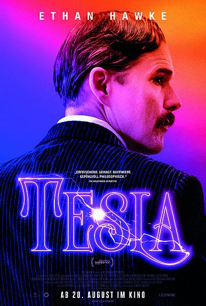 """Filmplakat für """"TESLA"""""""