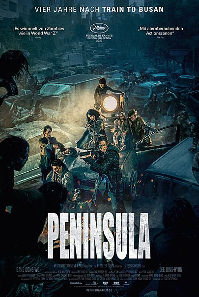 "Filmplakat für ""PENINSULA"""
