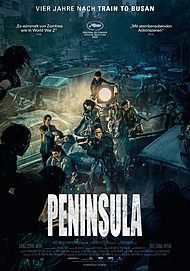 "Movie poster for ""PENINSULA"""