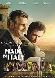 """Movie poster for """"MADE IN ITALY"""""""