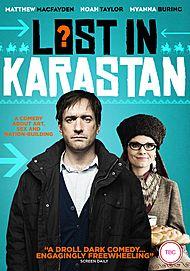 "Movie poster for ""LOST IN KARASTAN"""