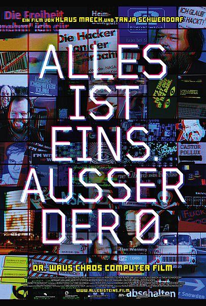 """Filmplakat für """"ALLES IST EINS. AUSSER DER 0."""""""