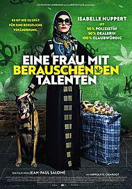 """Filmplakat für """"EINE FRAU MIT BERAUSCHENDEN TALENTEN - FILMSTART IN ÖSTERREICH"""""""