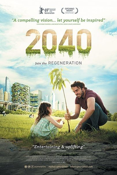 """Movie poster for """"2040"""""""