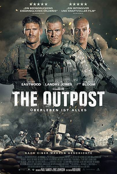 """Movie poster for """"THE OUTPOST """""""