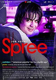 """Movie poster for """"SPREE"""""""