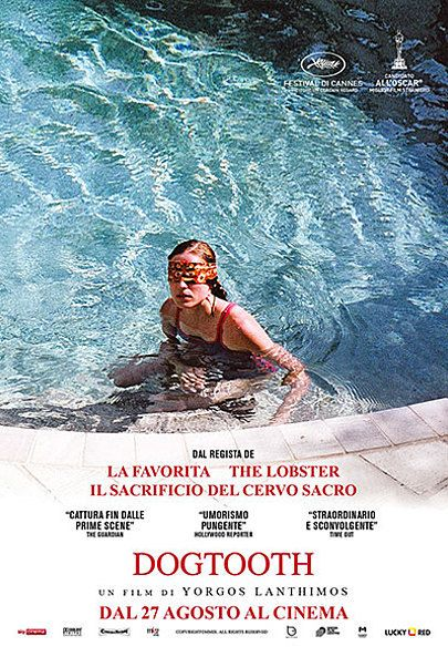"""Movie poster for """"Dogtooth"""""""