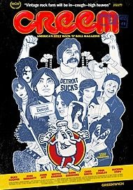 """Movie poster for """"CREEM: AMERICA'S ONLY ROCK 'N' ROLL MAGAZINE"""""""