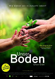 """Filmplakat für """"UNSER BODEN, UNSER ERBE"""""""