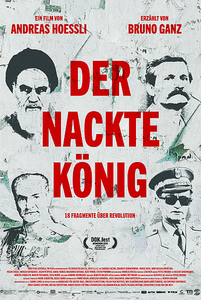 "Movie poster for ""DER NACKTE KÖNIG"""