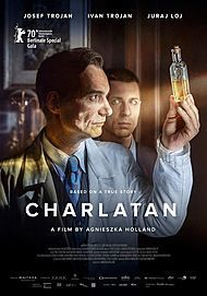 "Movie poster for ""CHARLATAN"""
