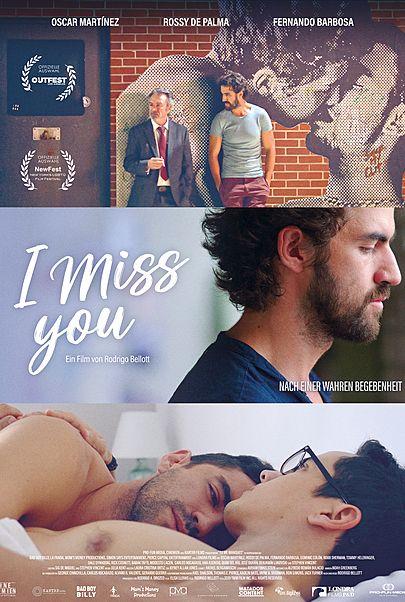 """Filmplakat für """"I MISS YOU"""""""
