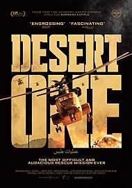 """Movie poster for """"DESERT ONE"""""""