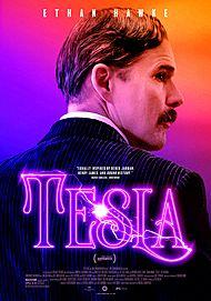 "Movie poster for ""TESLA"""