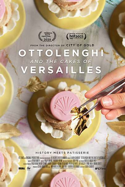 """Movie poster for """"OTTOLENGHI AND THE CAKES OF VERSAILLES"""""""