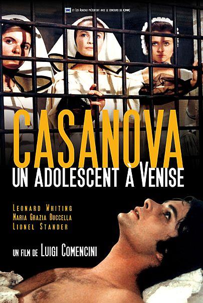 """Movie poster for """"INFANZIA VACAZIONE CASANOVA VENEZIANO"""""""