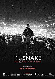 """Filmplakat für """"DJ SNAKE - LE CONCERT AU CINEMA"""""""