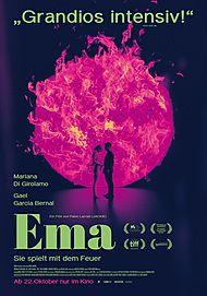 """Filmplakat für """"EMA"""""""