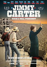 """Movie poster for """"JIMMY CARTER: ROCK & ROLL PRESIDENT"""""""