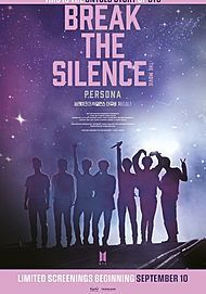 "Movie poster for ""BREAK THE SILENCE: THE MOVIE"""