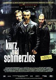"""Filmplakat für """"KURZ UND SCHMERZLOS"""""""