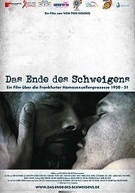 """Movie poster for """"DAS ENDE DES SCHWEIGENS"""""""