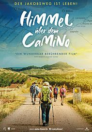 """Filmplakat für """"HIMMEL ÜBER DEM CAMINO - DER JAKOBSWEG IST LEBEN!"""""""