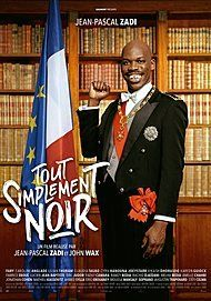 "Movie poster for ""TOUT SIMPLEMENT NOIR"""