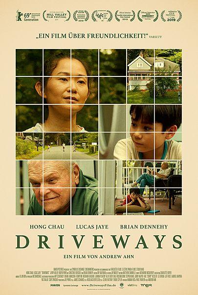 """Filmplakat für """"DRIVEWAYS"""""""