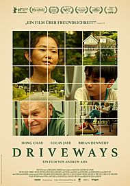 """Movie poster for """"DRIVEWAYS"""""""