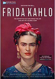 "Movie poster for ""FRIDA KAHLO - EXHIBITION ON SCREEN"""