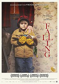 """Movie poster for """"FALLING (2020)"""""""