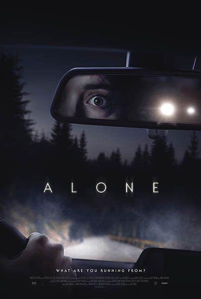 """Movie poster for """"ALONE"""""""