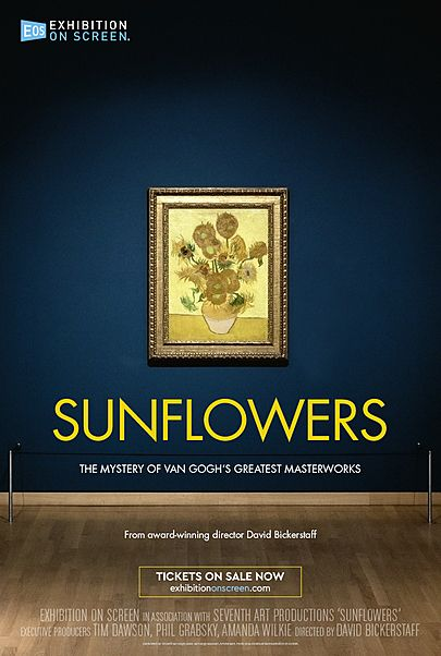 """Movie poster for """"SUNFLOWERS"""""""