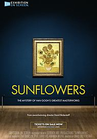 "Movie poster for ""SUNFLOWERS"""